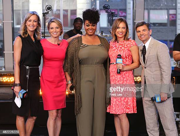 """Jill Scott performs live on """"Good Morning America,"""" 7/28/15, airing on the Walt Disney Television via Getty Images Television Network."""