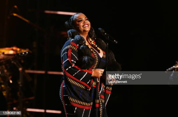 Jill Scott performs onstage during the 51st NAACP Image Awards Presented by BET at Pasadena Civic Auditorium on February 22 2020 in Pasadena...