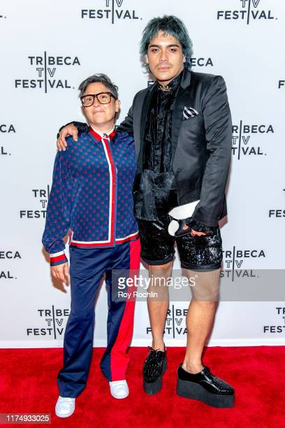 """Jill Soloway and Ambrose Respicio attend the """"Transparent"""" screening at the 2019 Tribeca TV Festival at Regal Battery Park Cinemas on September 15,..."""