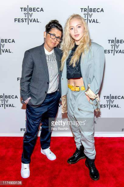 """Jill Soloway and Betsy Soloway-Aizley attends the """"Transparent"""" screening at the 2019 Tribeca TV Festival at Regal Battery Park Cinemas on September..."""