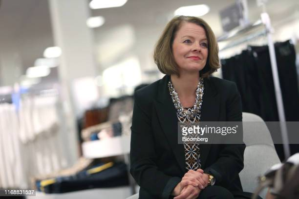 Jill Soltau chief executive officer of JC Penney Co listens during an interview in Fort Worth Texas US on Wednesday Sept 11 2019 Soltauis making a...