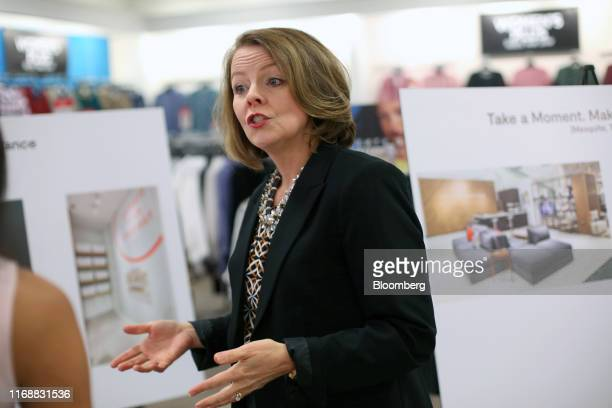 Jill Soltau chief executive officer of JC Penney Co speaks during an interview in Fort Worth Texas US on Wednesday Sept 11 2019 Soltauis making a...