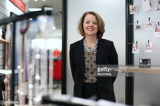 Jill Soltau chief executive officer of JC Penney Co stands for a photograph following an interview in Fort Worth Texas US on Wednesday Sept 11 2019...