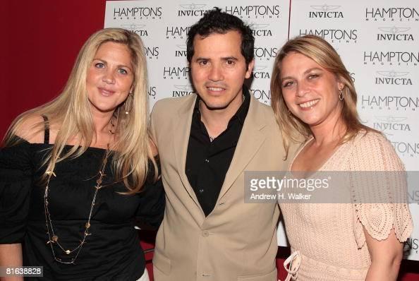 Jill Sommerstein, actor John Leguizamo and his wife ...