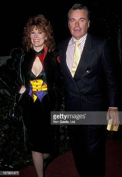Jill St John and Robert Wagner during Barbara Sinatra Child Abuse Center Benefit November 26 1988 at Los Angeles Forum in Los Angeles California...