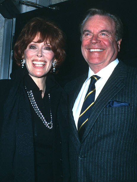 Jill St John And Robert Wagner During Liza Minnelli David Guests Wedding Rehearsal At