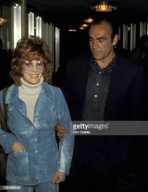 Jill St John and Sean Connery during Jill St John and Sean Connery File Photos United States