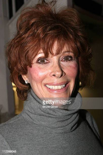 Jill St John *Exclusive Coverage* during Robert Wagner and Jill St John Visit Chita Rivera at 'Chita Rivera The Dancer's Life' on Broadway at The...