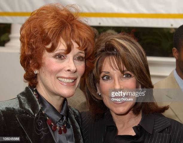 Jill St John Kate Linder during 22nd Annual Jimmy Stewart Relay Marathon VIP Kickoff Reception at Hotel Bel Air in Bel Air California United States