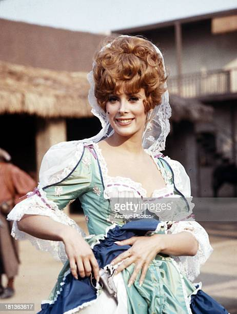 Jill St John on set of the film 'The King's Pirate' 1967