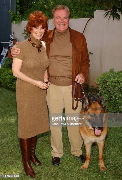 "Jill St John Robert Wagner and their dog Larry during 'Silver Spoon Dog and Baby Buffet"" Benefitting Much Love Animal Rescue Day One at Private..."