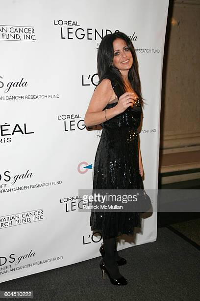 Jill Stuart attends L'OREAL Legends Gala Benefiting The Ovarian Cancer Research Fund at The American Museum Of Natural History on November 8 2006