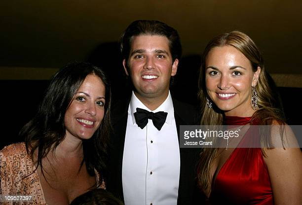 Jill Stuart Donald Trump Jr and Vanessa Haydon during The 53rd Annual Miss USA Competition After Party at Avalon in Hollywood California United States