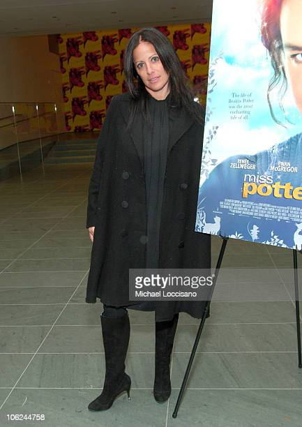 Jill Stuart during Miss Potter Special Private Screening at MoMA Theatre in New York City New York United States