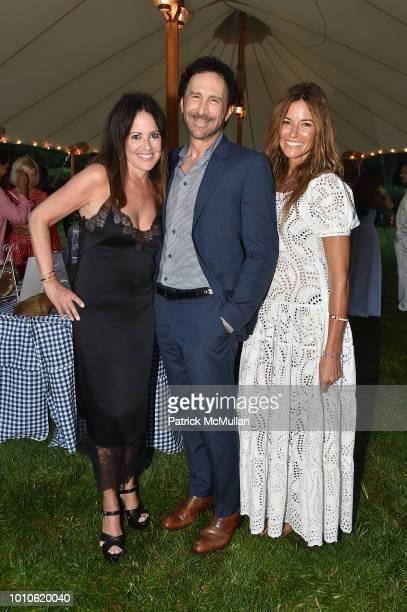 Jill Stuart; Peter Thomas Roth; Kelly Killoren Bensimon attend the RitaHayworthGala Hamptons Kickoff Event hosted by Alzheimer's Associationat...