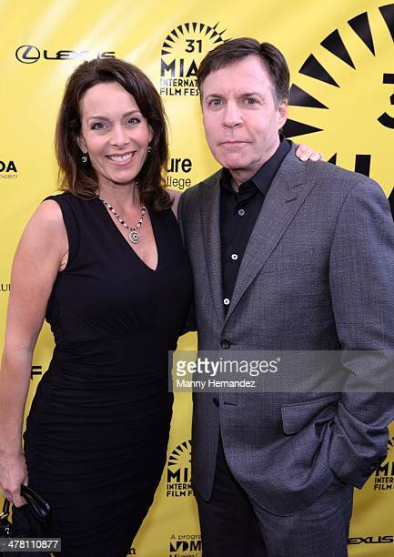 Jill Sutton and Bob Costas attends An Unbreakable Bond premiere during the Miami International Film Festival at Gusman Center for the Performing Arts...