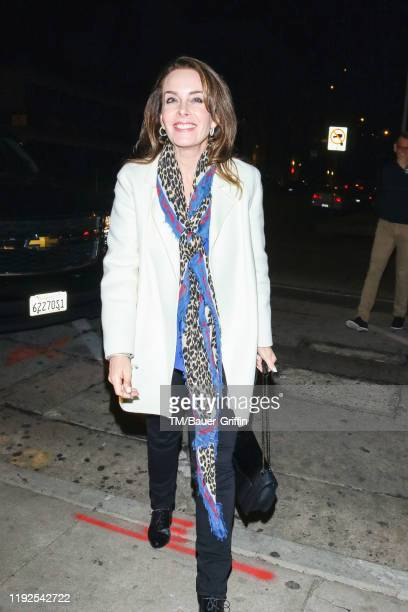 Jill Sutton is seen on January 08 2020 in Los Angeles California