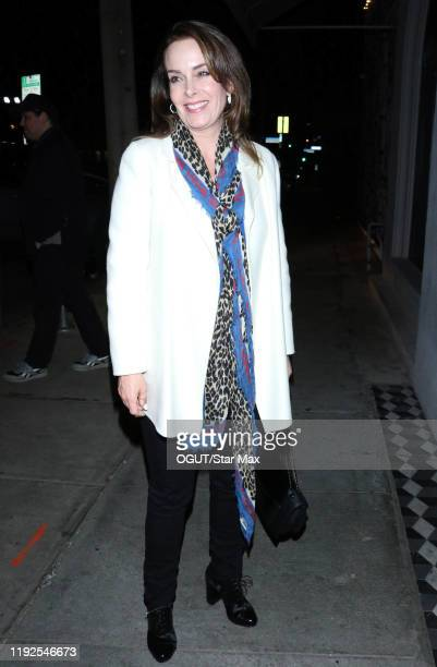 Jill Sutton is seen on January 8 2020 in Los Angeles California