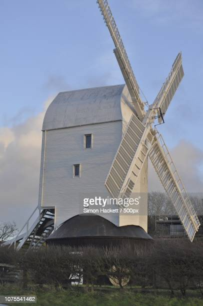 jill the windmill - hackett stock photos and pictures