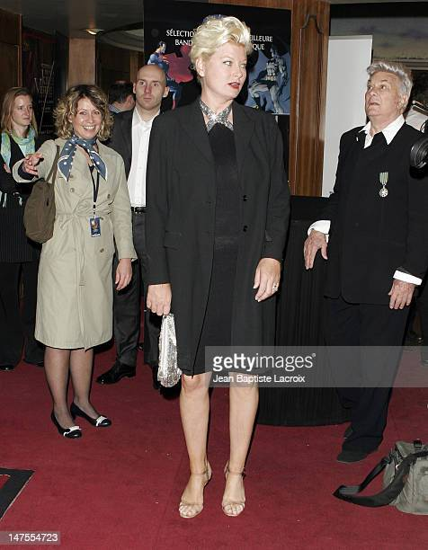Jill Vandenberg during 13th Jules Verne Film Festival - Ceremony Arrivals at Rex Theatre in Paris, France.