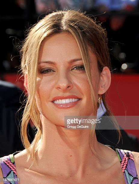 Jill Wagner arrives at the 2010 ESPY Awards at the Nokia Theatre LA Live on July 14 2010 in Los Angeles California