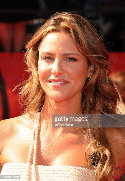 Jill Wagner arrives at the 2011 ESPY Awards at Nokia Theatre LA Live on July 13 2011 in Los Angeles California