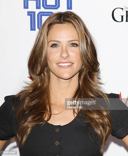 Jill Wagner arrives at the Maxim 2013 Hot 100 Party held at Create on May 15, 2013 in Hollywood, California.