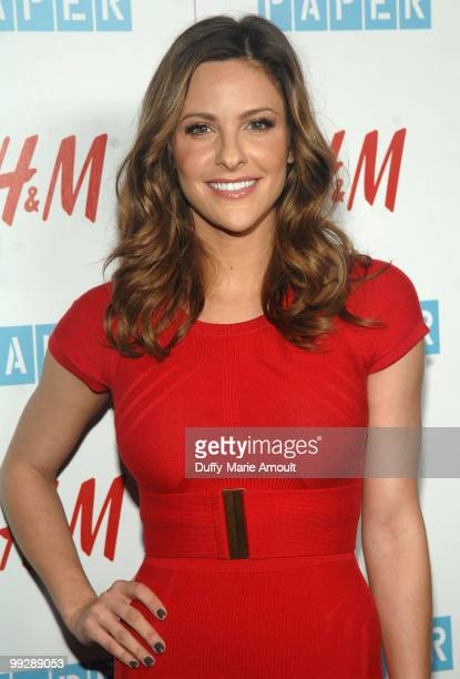 Jill Wagner attends Paper Magazine 13th Annual Beautiful People Issue Celebration at The Standard Hotel on May 13 2010 in Los Angeles California