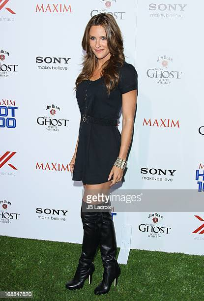 Jill Wagner attends the Maxim 2013 Hot 100 Party held at Create on May 15 2013 in Hollywood California