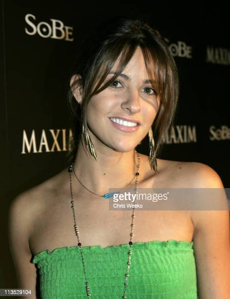 Jill Wagner during Maxim and Sobe Host Tale Slide in Celebration of the 2004 XGames Red Carpet at Jim Hensen Studios in Hollywood California United...