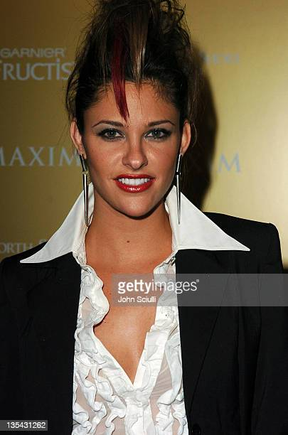 Jill Wagner during Maxim Magazine Hot 100 Party in Celebration of the Grand Opening of Body English, In the Hard Rock Hotel & Casino - Red Carpet at...