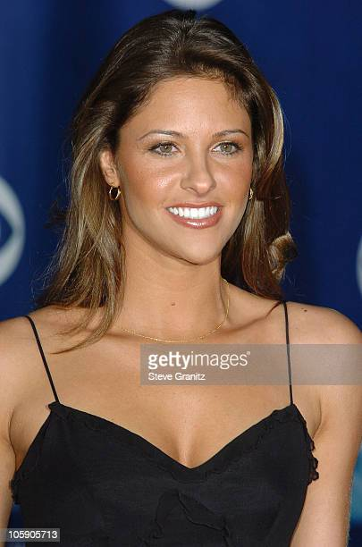 Jill Wagner during The 32nd Annual People's Choice Awards Arrivals at Shrine Auditorium in Los Angeles California United States