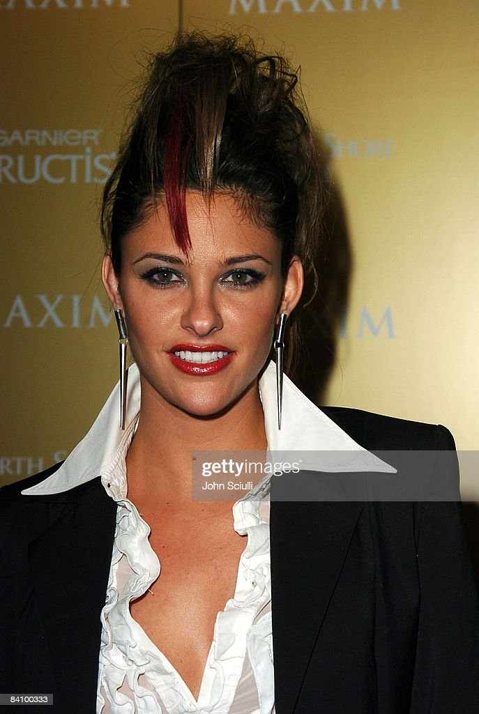 Maxim Magazine Hot 100 Party in Celebration of the Grand Opening of Body English, In the Hard Rock Hotel & Casino - Red Carpet : News Photo