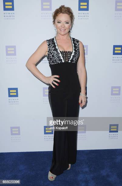 Jill Whelan arrives at the Human Rights Campaign's 2017 Los Angeles Gala Dinner at JW Marriott Los Angeles at LA LIVE on March 18 2017 in Los Angeles...