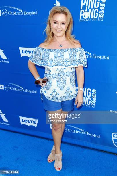 Jill Whelan at Clayton Kershaw's 5th Annual Ping Pong 4 Purpose Celebrity Tournament at Dodger Stadium on July 27, 2017 in Los Angeles, California.
