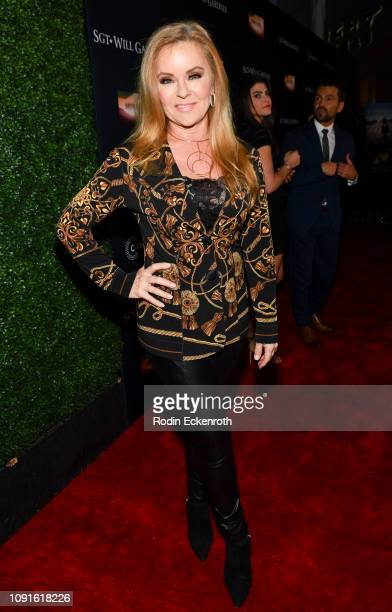 """Jill Whelan attends the premiere of Cinedigm Entertainment Group's """"SGT. Will Gardner"""" at ArcLight Hollywood on January 08, 2019 in Hollywood,..."""