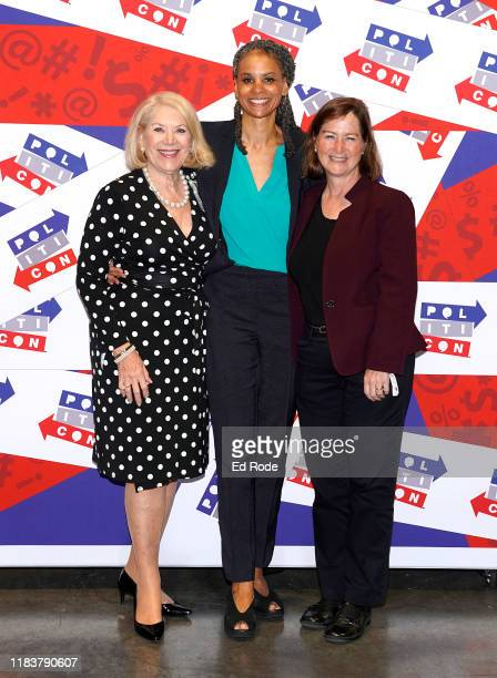Jill WineBanks Maya Wiley and Barbara McQuade attend day 2 of Politicon 2019 at Music City Center on October 27 2019 in Nashville Tennessee