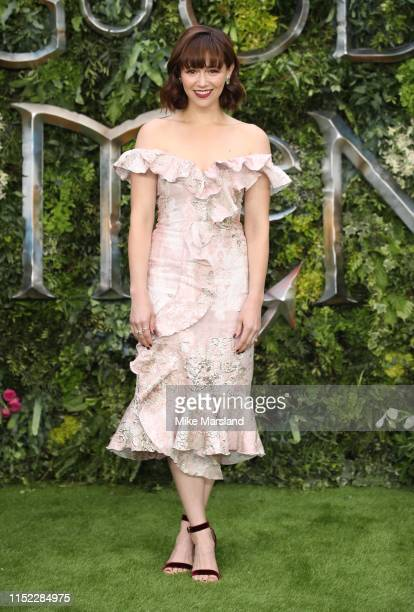 Jill Winternitz attends the Global premiere of Amazon Original Good Omens at Odeon Luxe Leicester Square on May 28 2019 in London England