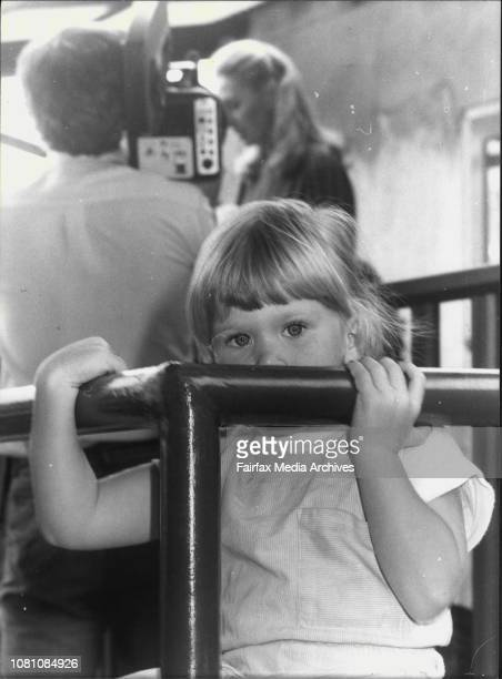 Jill Wran opening a new Kindergarden at Croydon today pictured in the foreground are his sister Aisha Cooper 3½ from Burwood February 27 1982