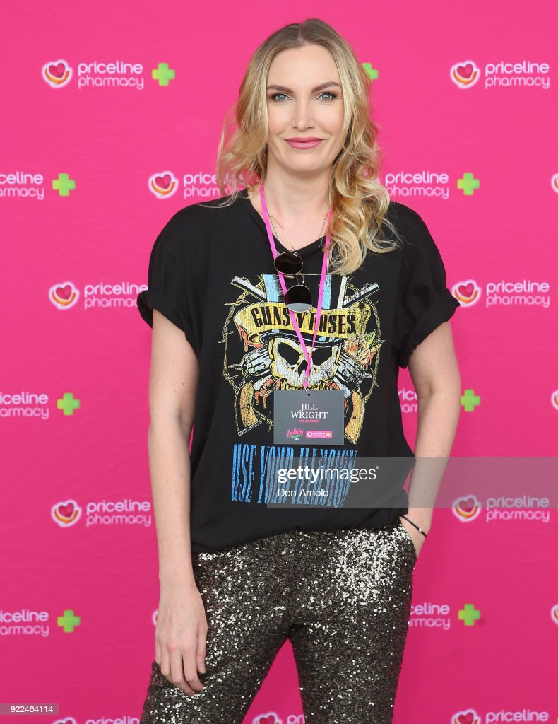 Jill Wright arrives ahead of Priceline Pharmacy's 'The Beauty Prescription' live event at Royal Randwick Racecourse on February 22, 2018 in Sydney, Australia.