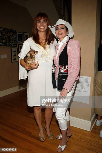 Jill Zarin and Arlene Lazare attend BOBBY AND JILL ZARIN'S 4TH OF JULY CELEBRATION at Sag Harbor on July 4, 2007.