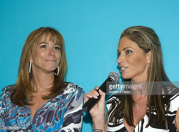 Jill Zarin and Jill Nicolini attend the 1 In 9 The Long Island Breast Cancer Action Coalition And The LIPSG Foundation fundraiser at Americana...