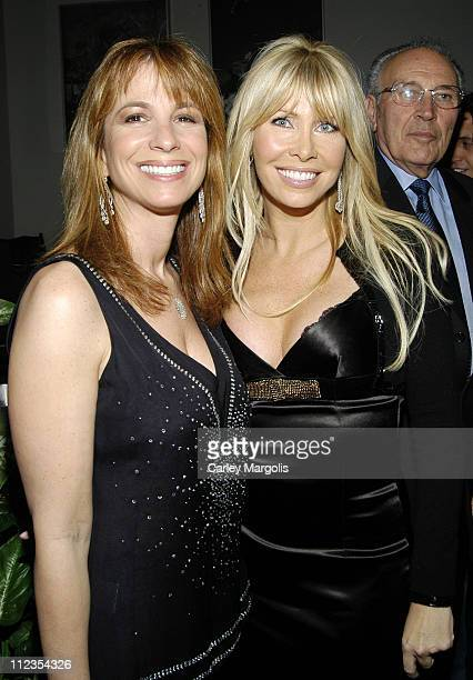 Jill Zarin and Lisa Gastineau during The 'Gastineau Girls' Celebrate the Premiere of Their Second Season at Stereo in New York City New York United...
