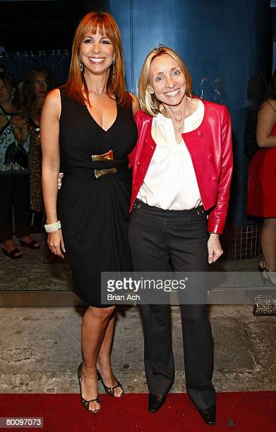 Jill Zarin and Susie Hilfiger attends the premiere screening of The Real Housewives of New York City at Touch on March 3 in New York City