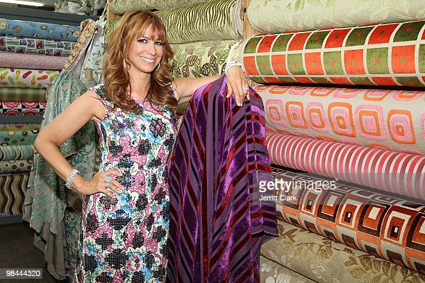 Jill Zarin attends her 'Secrets Of A Jewish Mother' book launch party at Zarin Fabrics on April 13 2010 in New York City