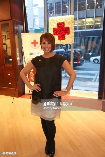 Jill Zarin attends Hirschfeld for Haiyan benefiting the American Red Cross at Suttons Robertsons on March 13 2014 in New York City