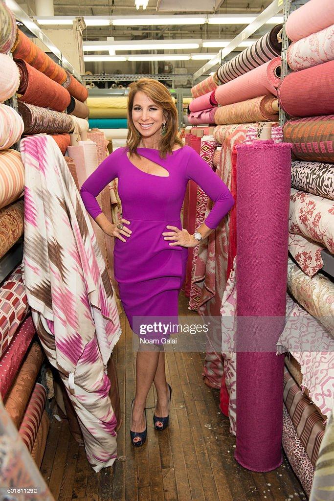 Jill Zarin attends the 2015 Zarin Fabrics' holiday party at Zarin Fabrics on December 17, 2015 in New York City.