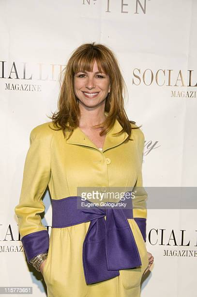 Jill Zarin attends The Social Life Magazine June Release Hosted By Whitney Port By SARAR And Peroni May 24 2008 in Water Mill New York