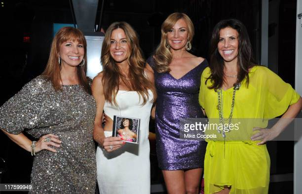Jill Zarin Kelly Bensimon Luann De Lesseps and Cindy Barshop attend Countess Luann De Lesseps' Music Video Premiere hosted by Life Style Weekly at...