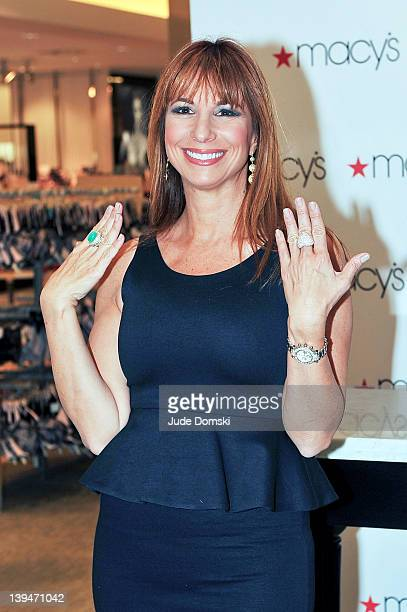 2ee8189f1b Jill Zarin makes an appearance at Macy s Herald Square on February 21 2012  in New York